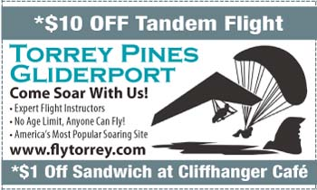 Coupon for Torrey Pines Gliderport