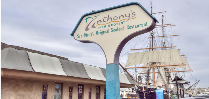 Anthony fish grotto san diego coupons thanksgiving deals for Fish market seaport village