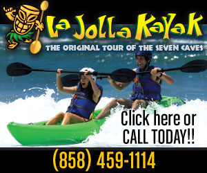 Reserve a tour at La Jolla Kayak