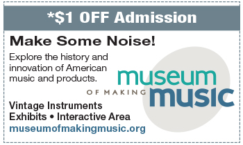 Coupon for Museum of Making Music