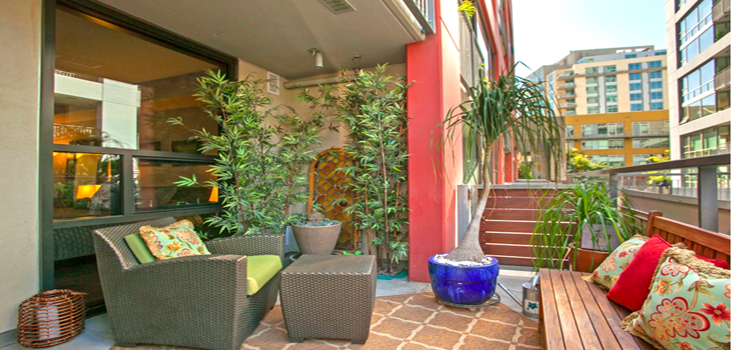 Many Units Feature Private Patios & Balconies