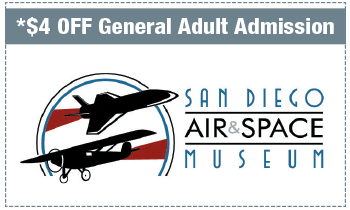 Coupon for San Diego Air & Space Museum