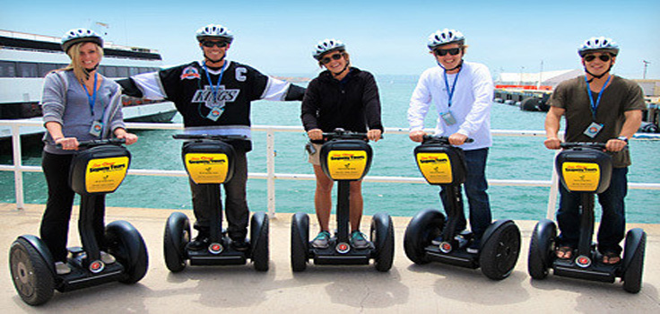 San Diego Segway on Embarcadero