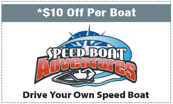Coupon for Speed Boat Adventures