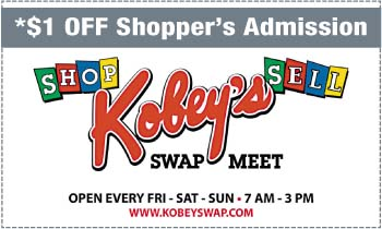 Coupon for Kobey's Swap Meet