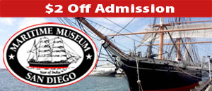Maritime Museum of San Diego banner