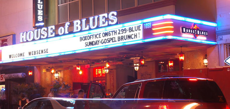 House Of Blues San Diego Restaurant Menu