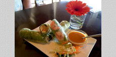 Lanna Thai Rice Roll