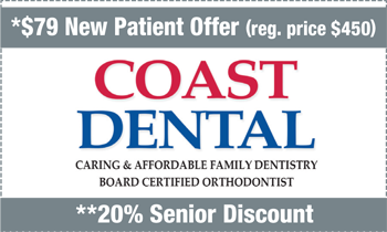 Coupon for Coast Dental