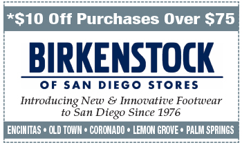 Coupon for Birkenstock of San Diego Stores