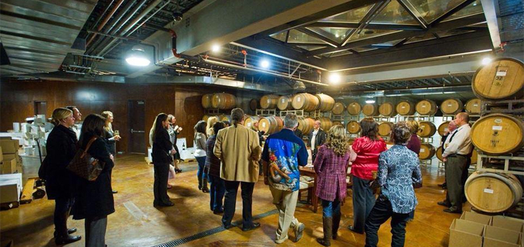 MDO Barrel room