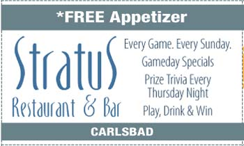 Coupon for Stratus Restaurant & Bar