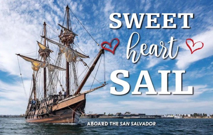 celebrate valentine's day with a sweethearts sail on the bay with, Ideas