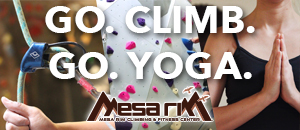 Mesa Rim Indoor Climbing and fitness center