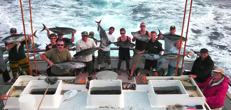 Get hooked on deep sea fishing at h m landing passport for Deep sea fishing san diego