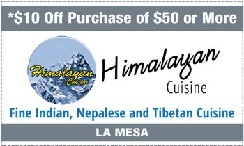 Coupon for Himalayan Cuisine