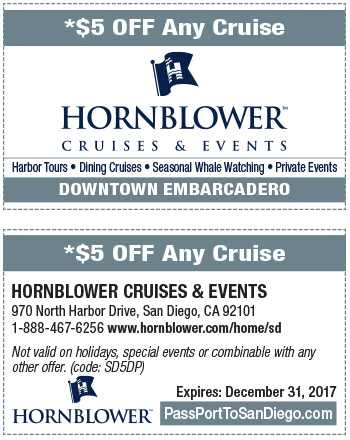 Hornblower cruises discount coupons