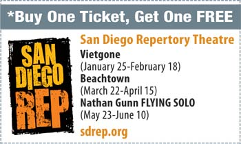 Coupon for San Diego Repertory Theatre