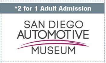 Coupon for San Diego Automotive Museum