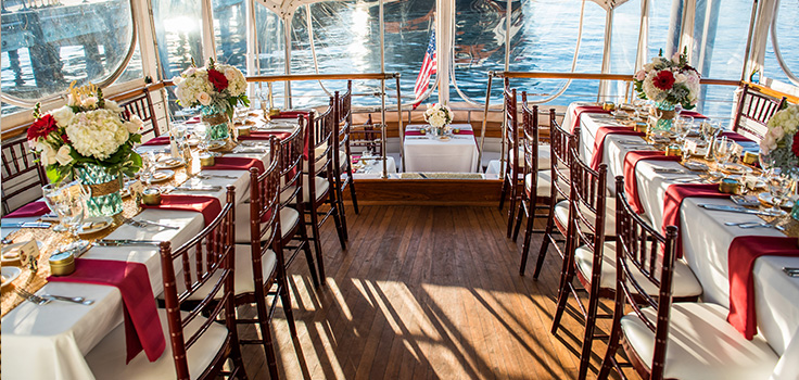 Hornblower Cruises and Events San Diego Weddings