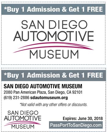 Museum coupons san diego