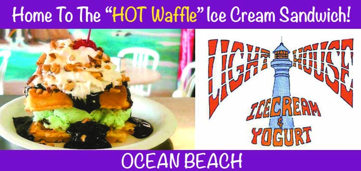 Lighthouse Ice Cream Ocean Beach