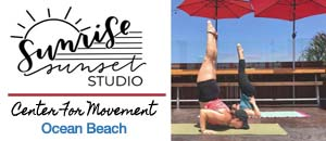 Sunrise Sunset Studio Ocean Beach