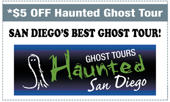 Coupon for Haunted San Diego Ghost Tours