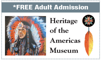 Coupon for Heritage of the Americas Museum
