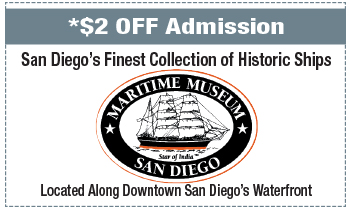 Coupon for Maritime Museum of San Diego