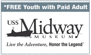 Coupon for USS Midway Museum