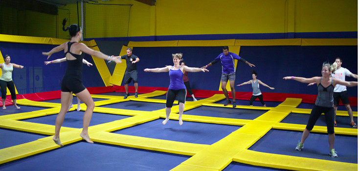 Join Sky High Sports For Airobics Trampoline Classes
