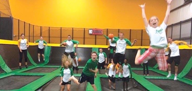 rockin jump trampoline group