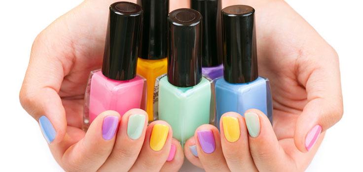 spring-nails-polish