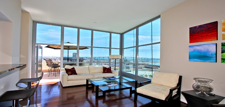 Premier Condo Featuring Panoramic Views of San Diego Bay