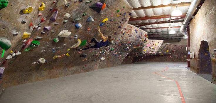 wall climbing-Mesa Rim