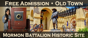 Mormon Battalion Historic Site, Admission is FREE