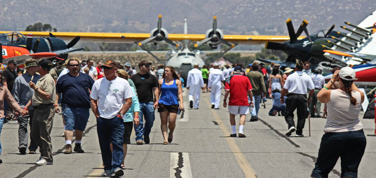 Gillespie Field Airport in El Cajon
