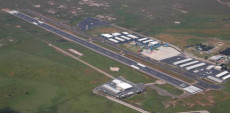 Aerial View of Ramona Airport
