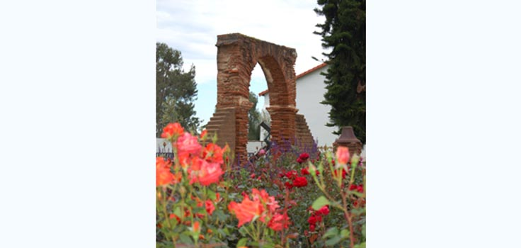 Historic Arch & Roses