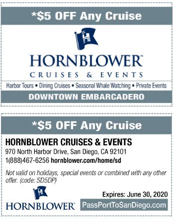 Hornblower Cruises San Diego Harbor Amp Dinner Cruise Coupon