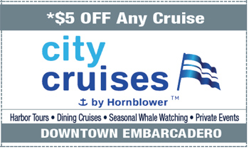 Coupon for City Cruises Anchored By Hornblower