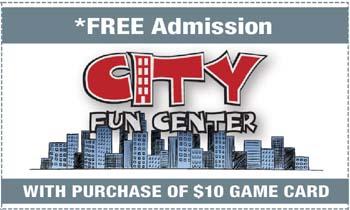 Coupon for City Fun Center