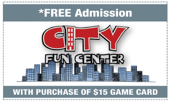 Coupon for City Fun Center