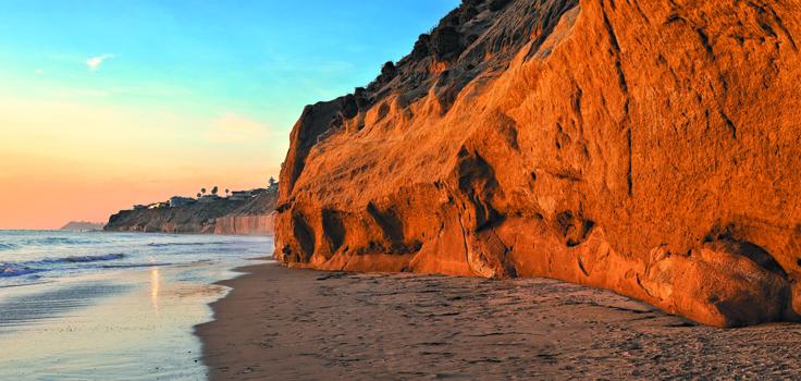Encinitas Beach Sunset