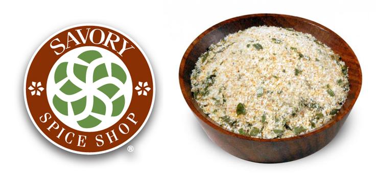 savory spice logo and spice