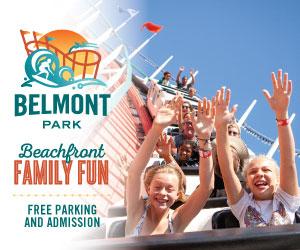 Belmont Park banner