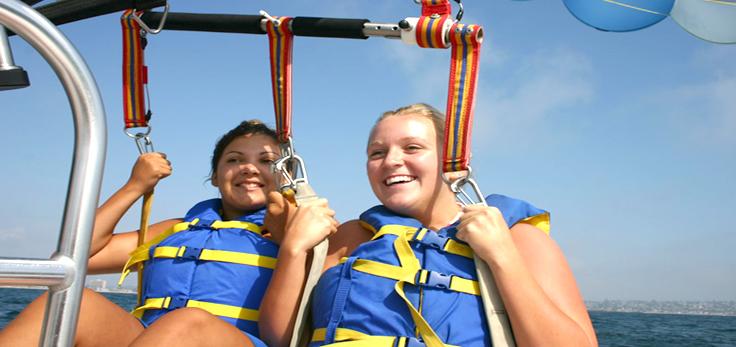 Staff And Captain San Go Parasailing Adventure Group 2b