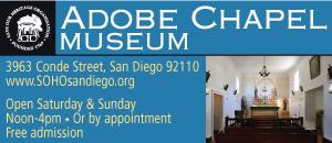 San Diego Adobe Chapel Museum