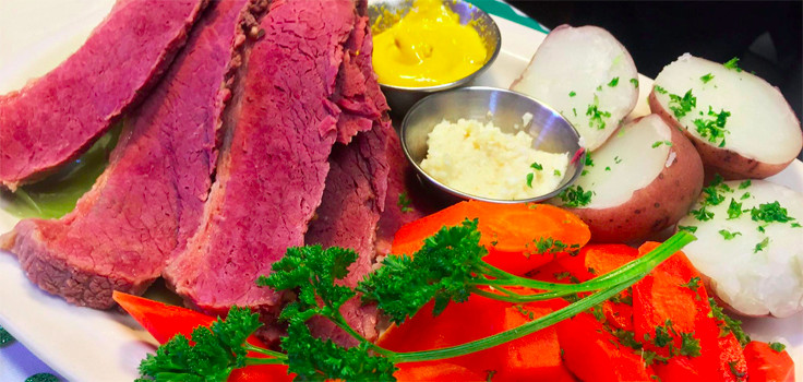 corned beef and carrots